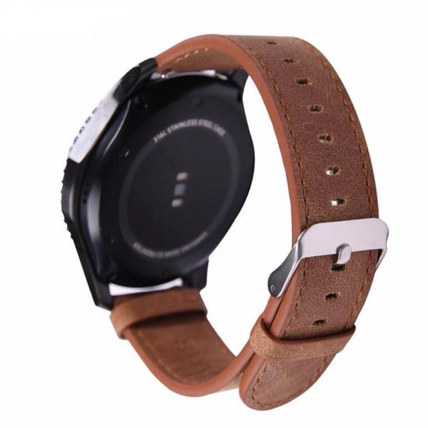Leather band for Samsung Galaxy Gear S3 Frontier & Classic - PHONES FASHIONS