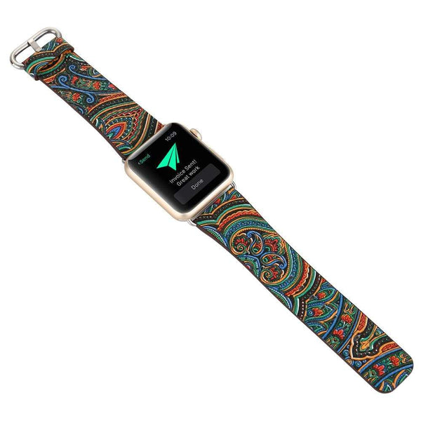 Leather Bracelet Band for Apple Watch - PhonesFashions