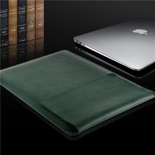Leather Soft Sleeve Bag Case For Macbook - PhonesFashions