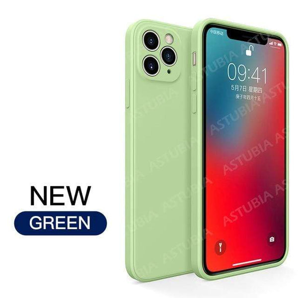 Luxury Liquid Silicone Case For iPhone 11 & 12 - PhonesFashions