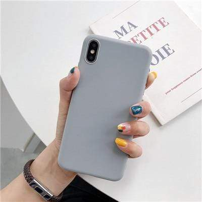 Luxury Soft Silicone Cases for iPhone - PhonesFashions