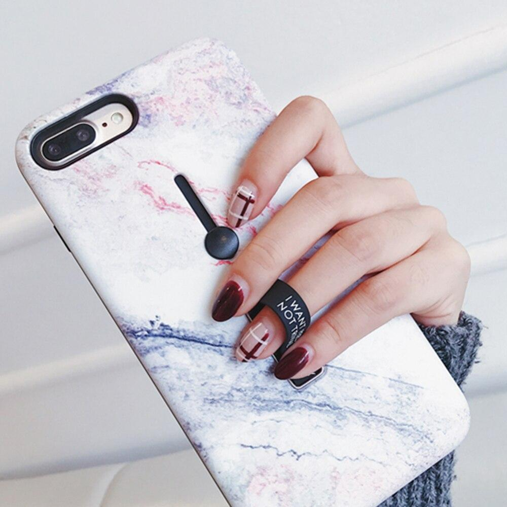Marble Flower Flamingo Soft silicon Phone Case For iPhone - PhonesFashions
