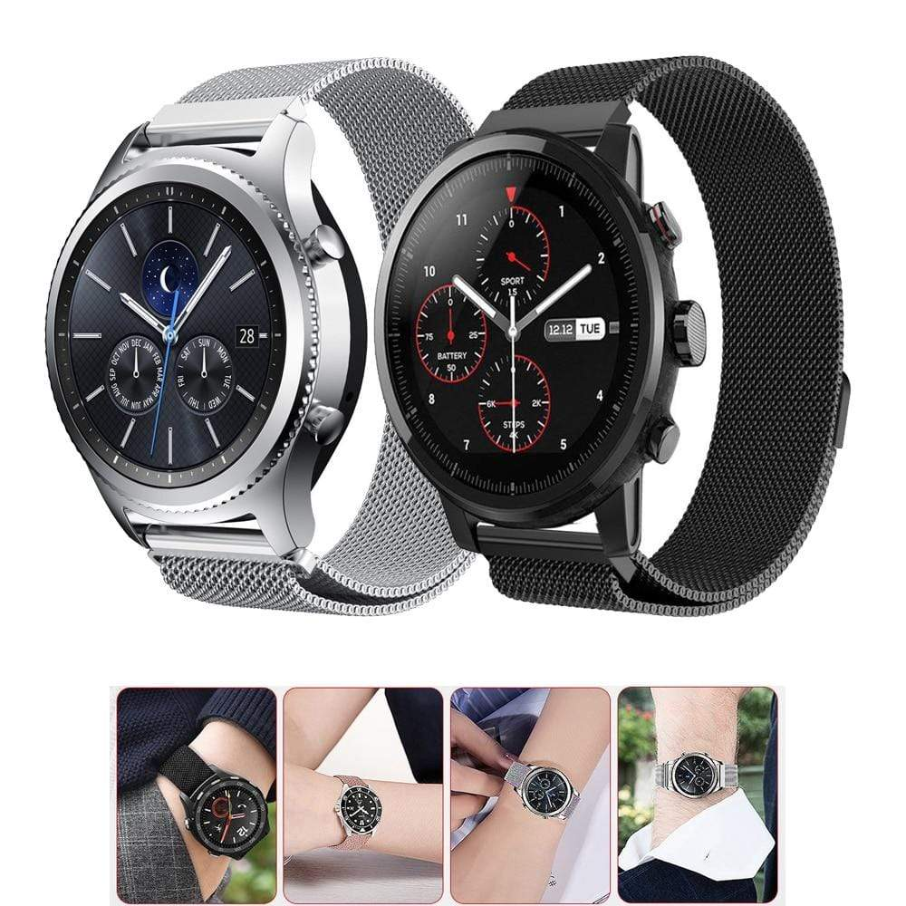 Milanese strap for Samsung Gear S3 Frontier - PHONES FASHIONS