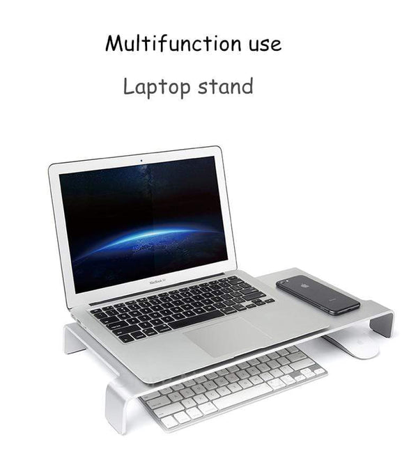 Monitor Stand with Keyboard Storage - PHONES FASHIONS
