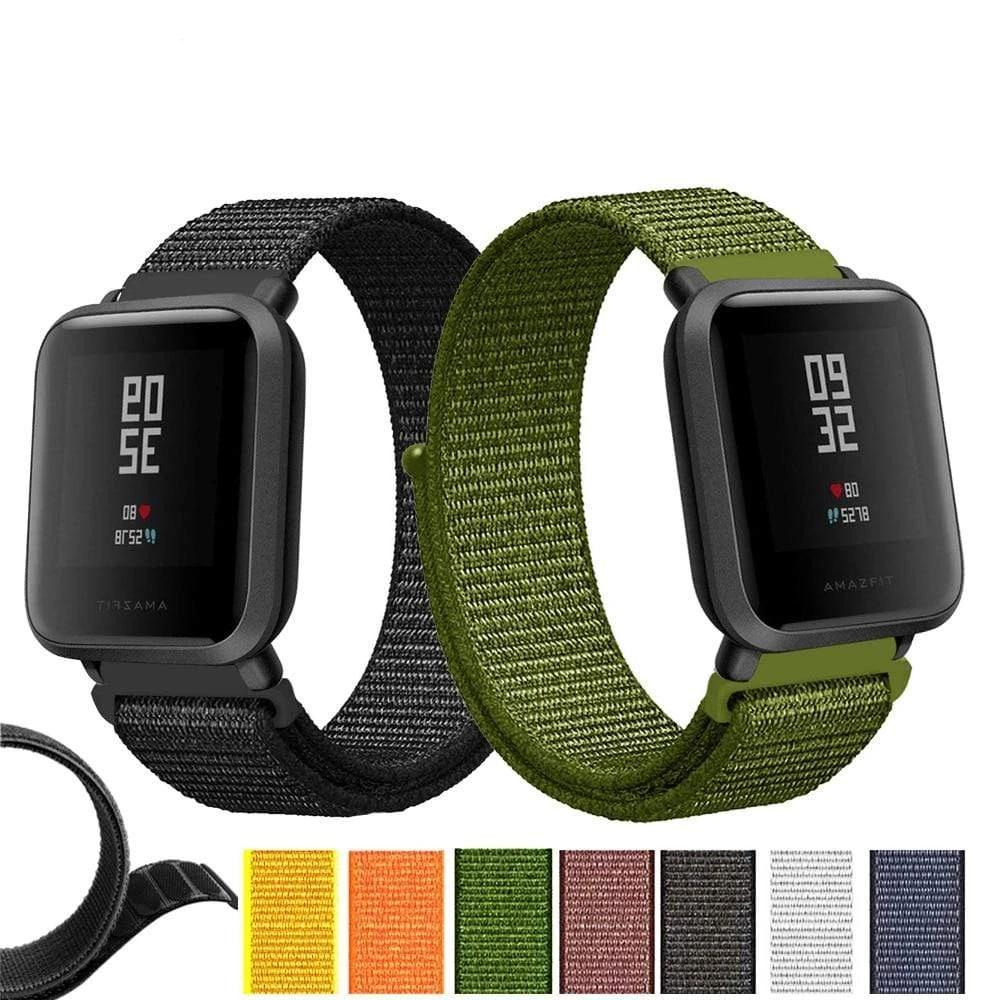 Nylon Woven Straps for Amazfit Bip Xiaomi Huami - PHONES FASHIONS