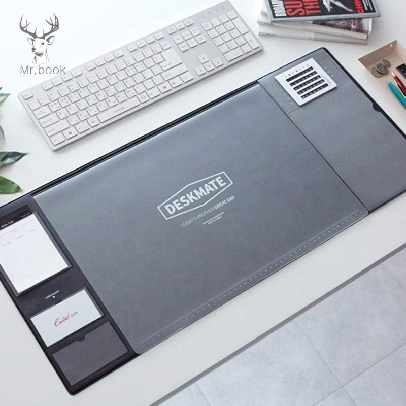 Office Desk Mat,Waterproof PVC Laptop Cushion, Organizer with Calendar - PHONES FASHIONS