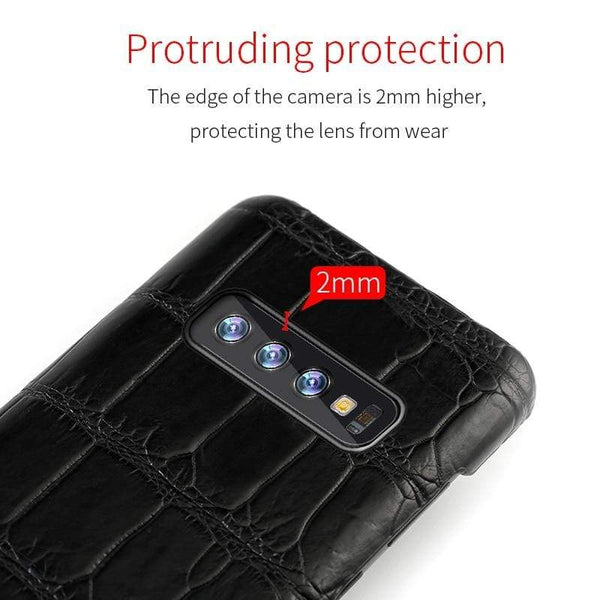Original Crocodile Leather case For Samsung Galaxy - PhonesFashions