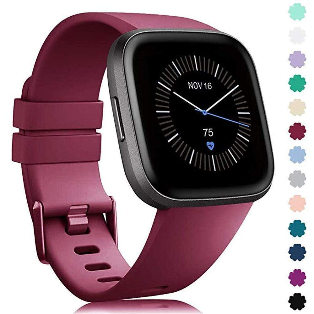 Original Fitbit Soft Silicone Waterproof Strap - PHONES FASHIONS