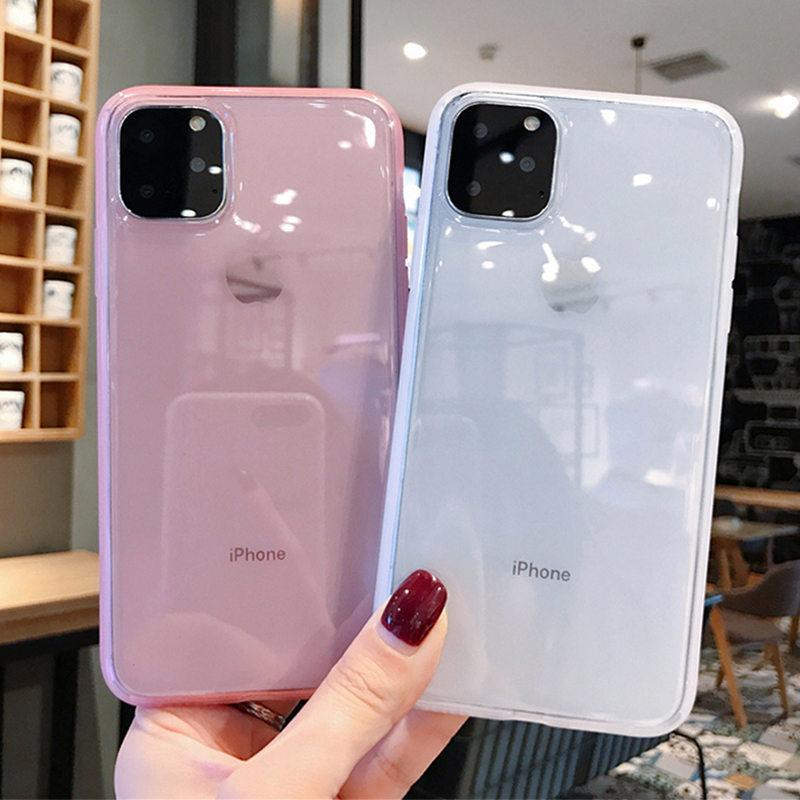 Plain & Transparent Classic case - PHONES FASHIONS