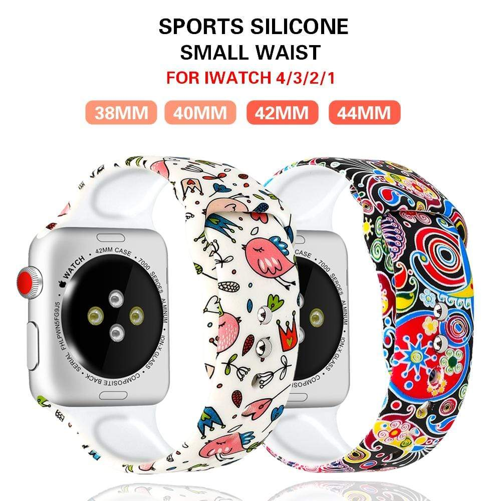 Popular Printing Stylish Strap for apple watch - PhonesFashions