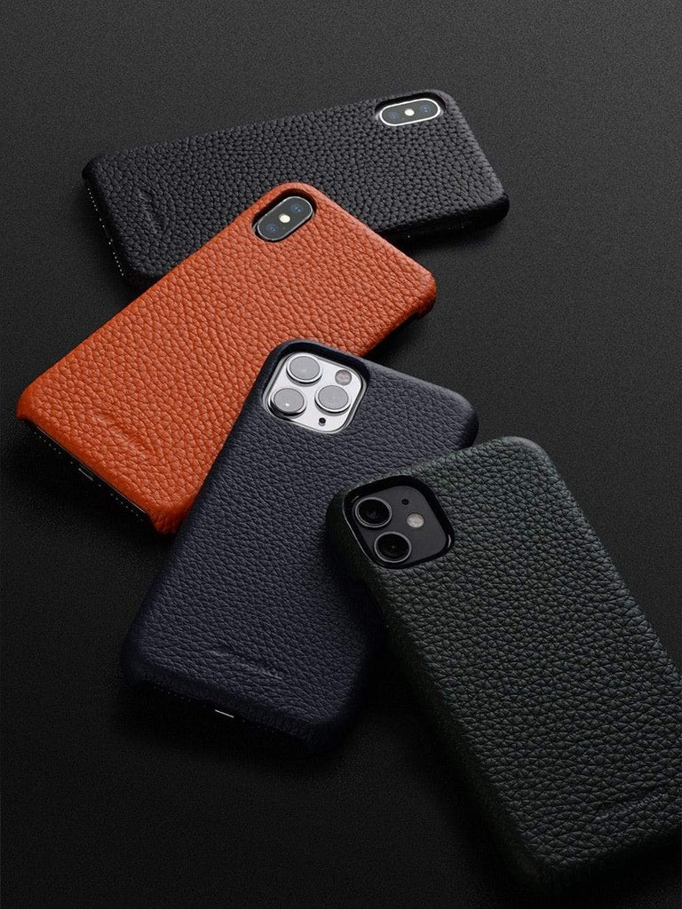 Premium Genuine Leather Case for iPhone 12 - PhonesFashions