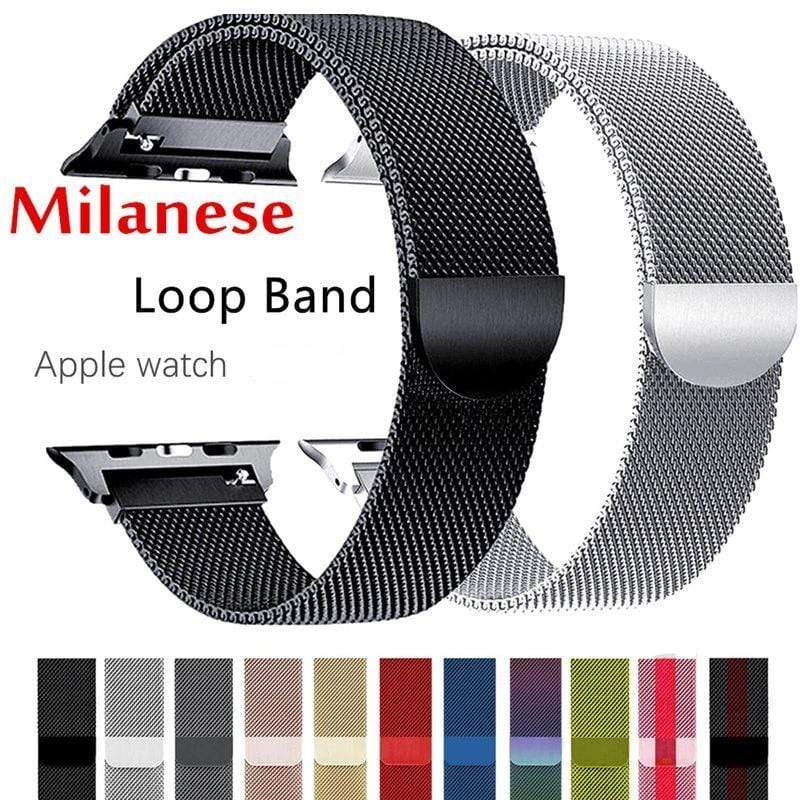 Premium Milanese Loop For Apple Watch - PHONES FASHIONS