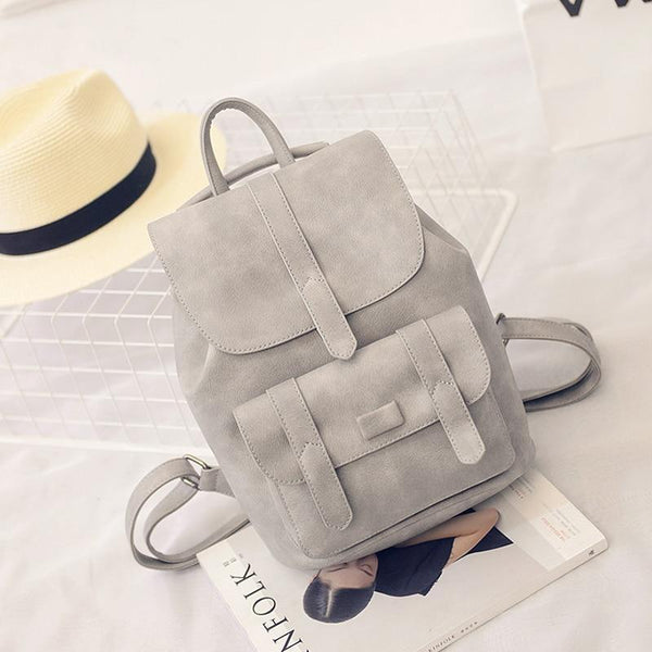 PU Leather Backpack for Women - PhonesFashions