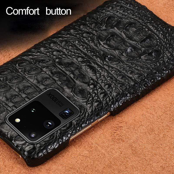 Real Crocodile Leather case For Samsung Galaxy - PhonesFashions