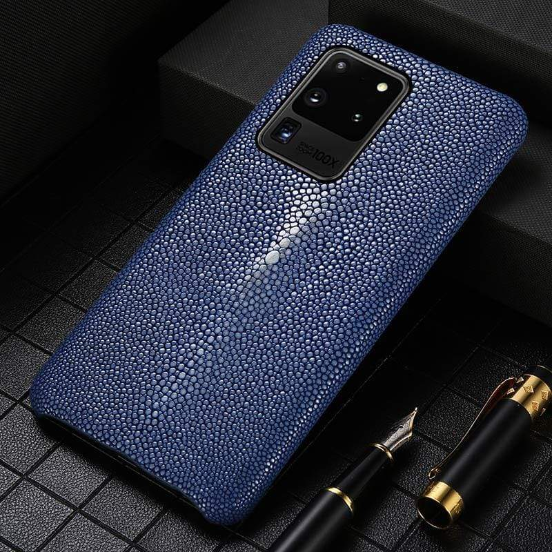 Real Stingray Leather case For Samsung - PhonesFashions