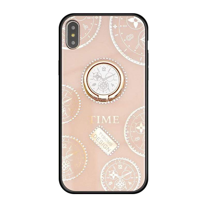 Rhinestone Kickstand iPhone Case - PHONES FASHIONS