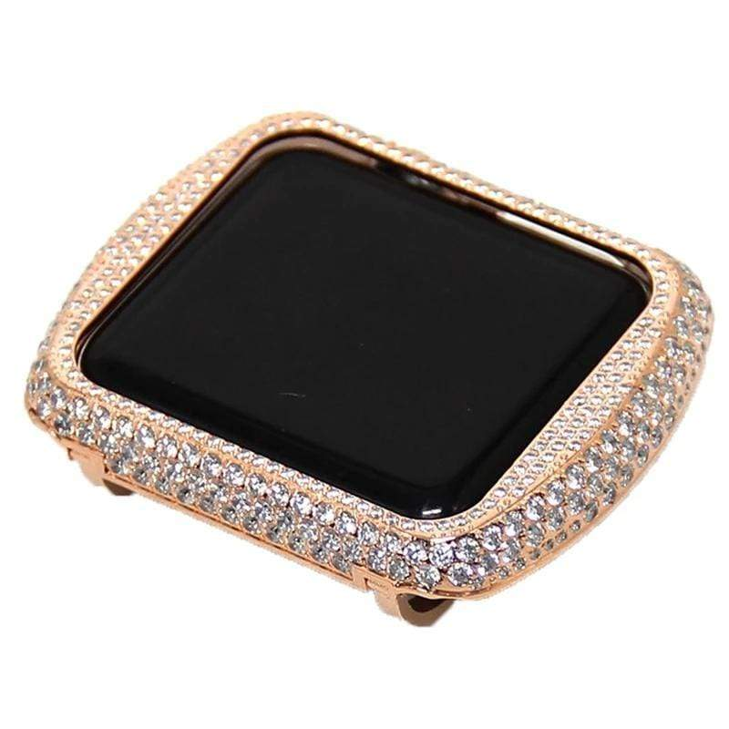 Crystal diamond case For Apple Watch - PHONES FASHIONS