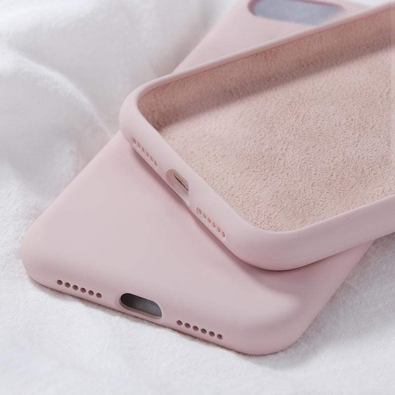 Washable Silicone Case for iPhone - PHONES FASHIONS
