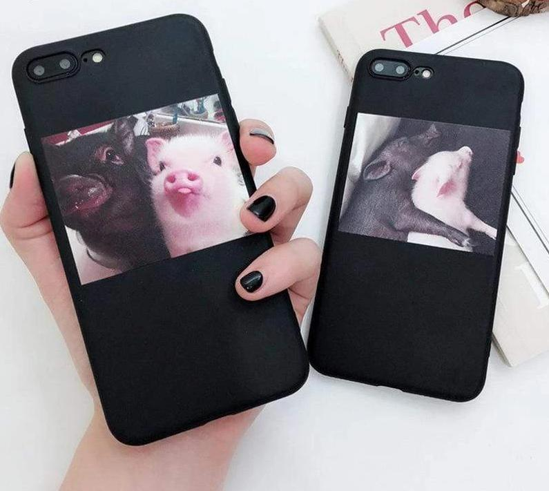 Silicone Cute Pig Case For iPhone - PhonesFashions