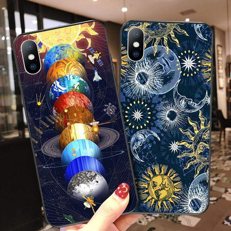 Soft Space Case For iPhone - PHONES FASHIONS