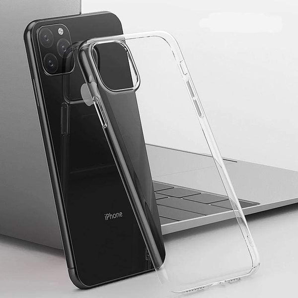 Soft Transparent Case For iPhone 11 - PHONES FASHIONS
