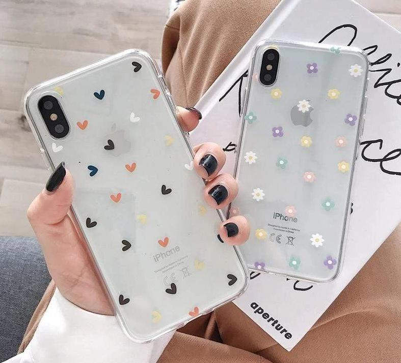 Transparent Silicon Back Cover Cases For iPhone - PhonesFashions