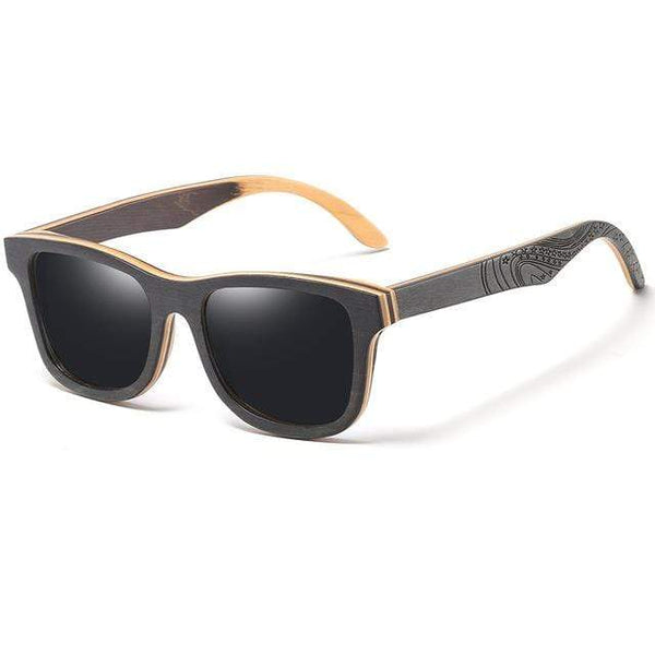 Unisex wooden frame Polarized Sunglasses - PhonesFashions