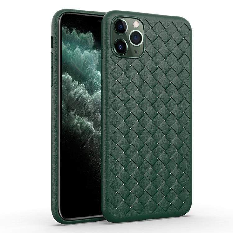 Soft Midnight Green iPhone Case - PHONES FASHIONS