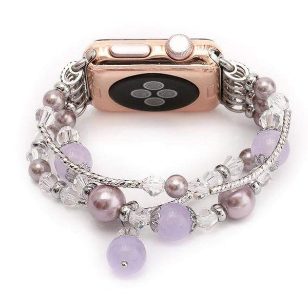 Women's Pearl Jewelry Bracelet for Apple Watch - PhonesFashions