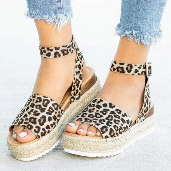 Women WEDGES Sandals Plus High Heels Shoes - PHONES FASHIONS