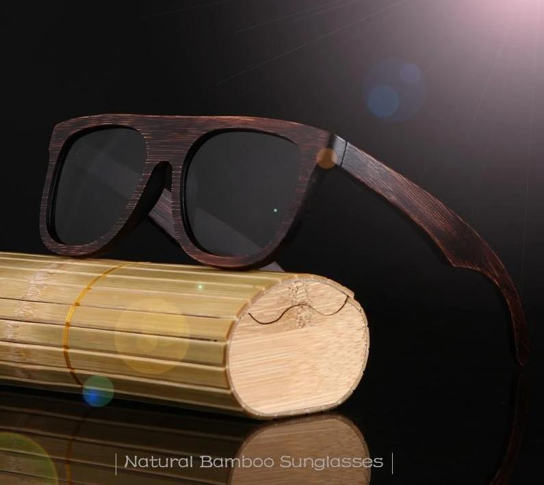 Wooden Frames Polarized Driving Sunglasses for Men - PhonesFashions