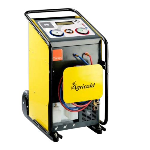 OKSYS AGRICOLD - Air Con Automotive-R134a recovery/Recycle/recharge unit, air con recovery unit, air con service station
