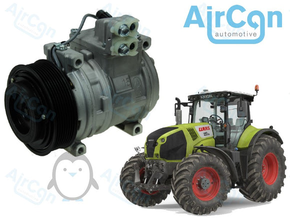 Claas ARES, ATLES, AXION, CELTIS air conditioning compressor 7700038545, 7700042614, 0010327521, 11011550, 0011011550, 1101155.1, 11011551