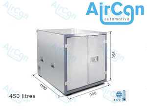 450 litre mobile container Fridge/ Freezer