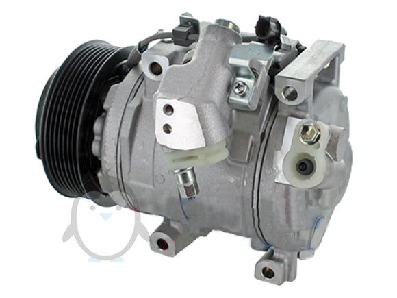Air conditioning compressor Honda Accord VIII 2.2 DTEC 447280-0390, 38810-RL0-G01, 51-1046, DCP40018, Denso 10SR15C