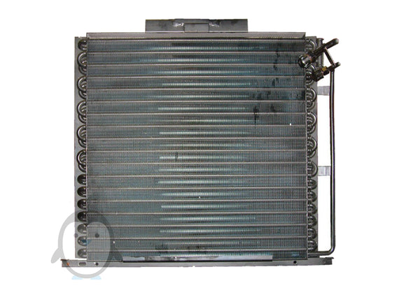 John Deere 20 series 30 series air conditioning condenser AL157615, AL156282, AL207876, 400-5554, 291B17, 829202-232, S.106681 CD-0003 800x600