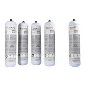 Disposable Nitrogen bottles 1 litre cylinders of nitrogen - Air Con Automotive