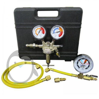 Mastercool 53030 Nitrogen leak detection kit, Nitrogen regulator R134a, R1234yf leak detection.