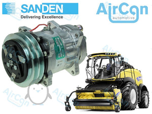 New Holland FR9040, FR9050, FR9060, FR9080 AC compressor 84018077, 84018078, 84056429, 8964678, 89831427, 89831429, 84039022, 89831429, 84011595, 060506146