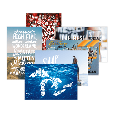 High Five Threads Postcard Collection