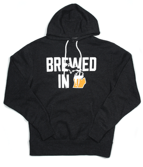 Brewed in Michigan Pullover Hoodie