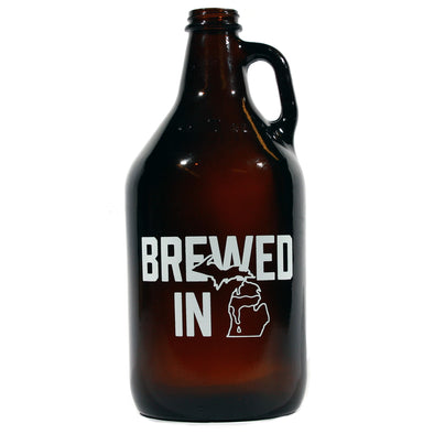 Brewed in MI Growler