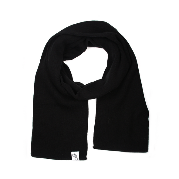 Knit Scarf (Black)