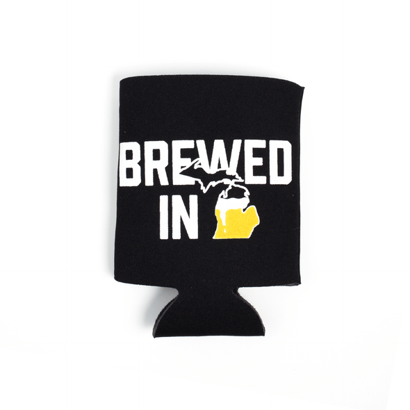 Brewed in MI Koozie