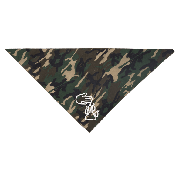 High Five Paw Bandana (Camo)