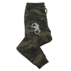 Michigan Hands Jogger Pants (Camo)