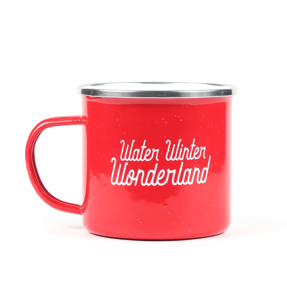 Holiday Enamel Camp Mug