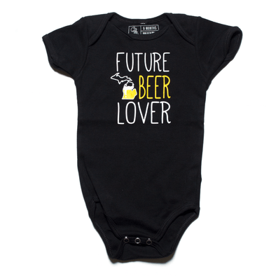Future Michigan Beer Lover Onesie