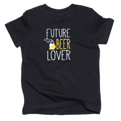 Future Michigan Beer Lover Toddler Tee