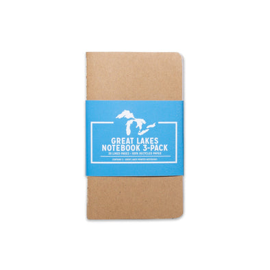 Great Lakes Mini Notebook 3-Pack